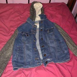 Jackets & Blazers - denim sweater jacket